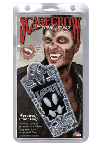 Click Here to buy Adult Werewolf Teeth from HalloweenCostumes, CDN Funds