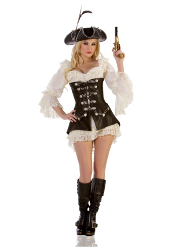Click Here to buy Sexy Rogue Pirate Costume from HalloweenCostumes, CDN Funds & Shipping