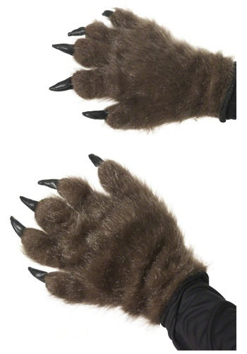 Click Here to buy Hairy Werewolf Hands from HalloweenCostumes, CDN Funds