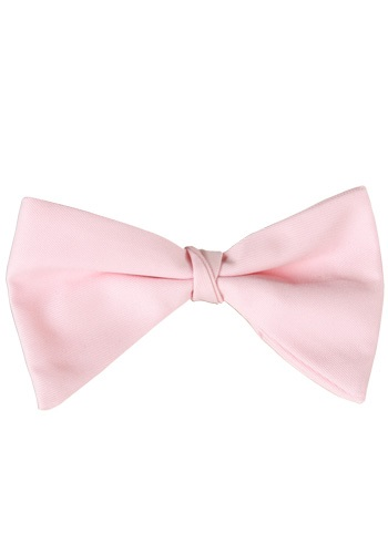 Pink Tuxedo Bow Tie