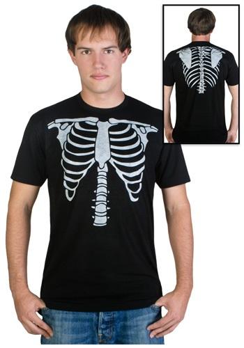 Mens Skeleton Costume T-Shirt