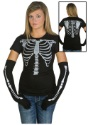 Womens Skeleton Costume T-Shirt