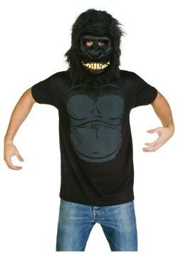 Mens Gorilla Costume T-Shirt