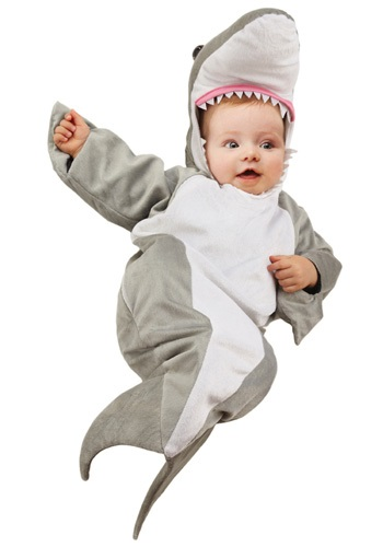 Click Here to buy Baby Shark Bunting Costume from HalloweenCostumes, CDN Funds & Shipping