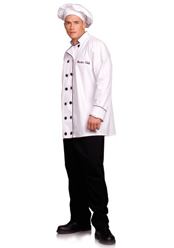 Plus Size Chef Costume