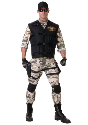 Adult SEAL Team Costume
