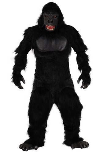 Click Here to buy Two Bit Roar Gorilla Costume from HalloweenCostumes, CDN Funds & Shipping