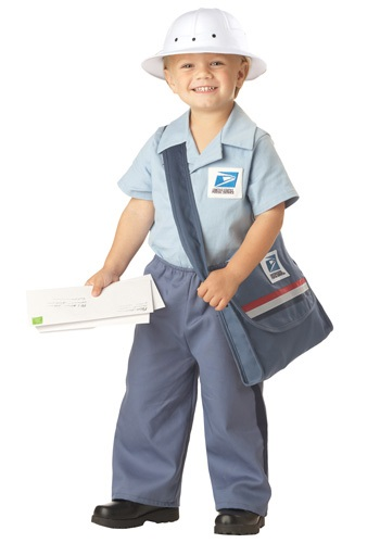 Toddler Mr. Postman Costume