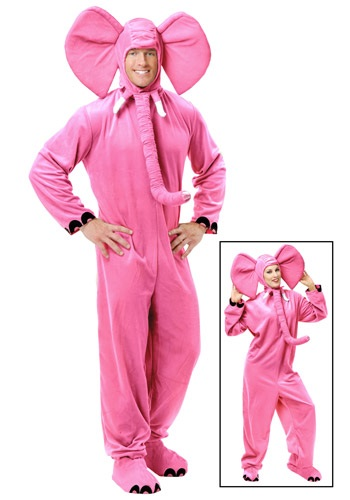 Click Here to buy Adult Pink Elephant Costume from HalloweenCostumes, CDN Funds & Shipping