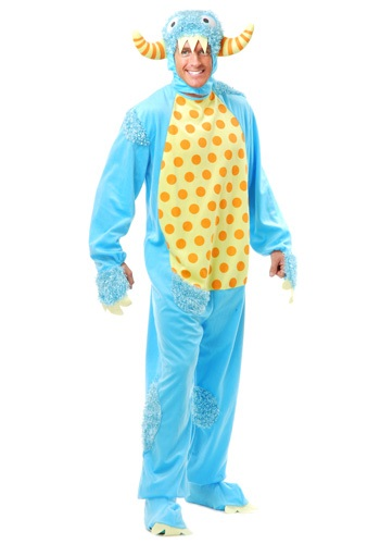 Click Here to buy Adult Blue Monster Costume from HalloweenCostumes, CDN Funds & Shipping