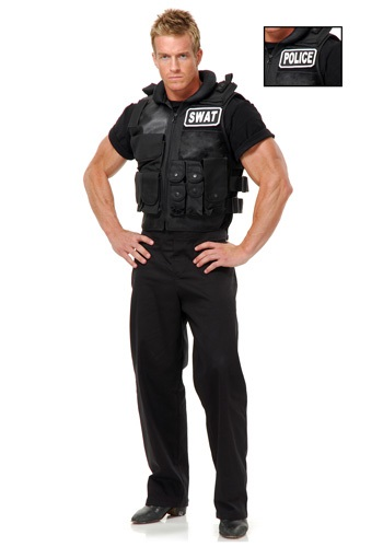SWAT Team Costume Vest