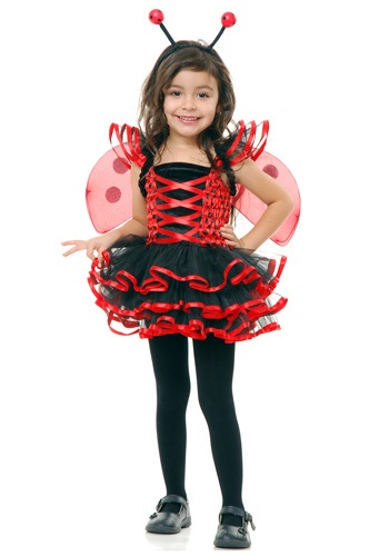 Click Here to buy Toddler Lady Bug Cutie Costume from HalloweenCostumes, CDN Funds & Shipping