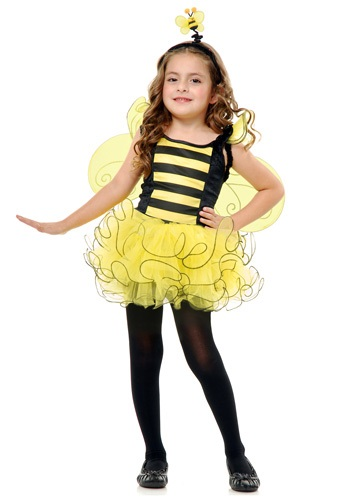 Click Here to buy Kids Sweet Bee Costume from HalloweenCostumes, CDN Funds & Shipping