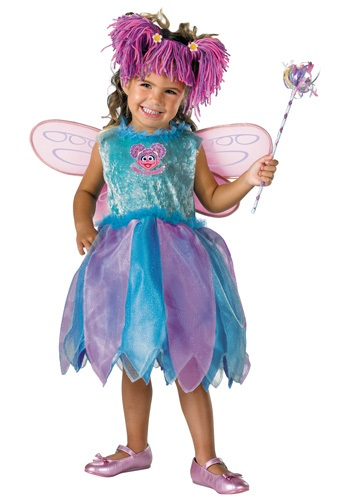 Click Here to buy Deluxe Abby Cadabby Costume - Toddler Muppet Costumes from HalloweenCostumes, CDN Funds & Shipping