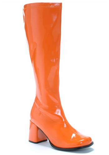 Click Here to buy Orange Gogo Boots from HalloweenCostumes, CDN Funds & Shipping