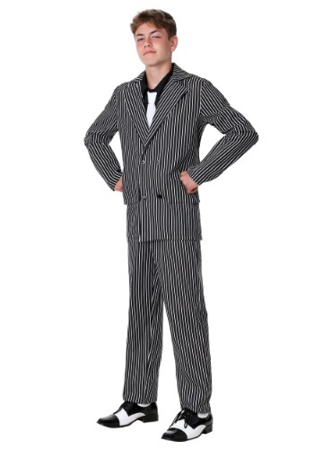 Click Here to buy Teen Deluxe Gangster Costume from HalloweenCostumes, CDN Funds & Shipping