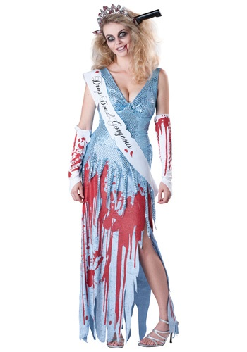 Click Here to buy Drop Dead Prom Queen Costume from HalloweenCostumes, CDN Funds & Shipping