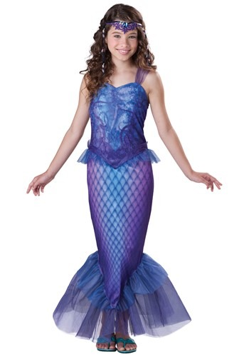 Kids Mysterious Mermaid Costume | Sea Creature Costumes