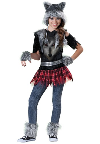 Click Here to buy Tween Werewolf Costume from HalloweenCostumes, CDN Funds & Shipping