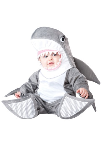 Click Here to buy Baby Silly Shark Costume from HalloweenCostumes, CDN Funds & Shipping