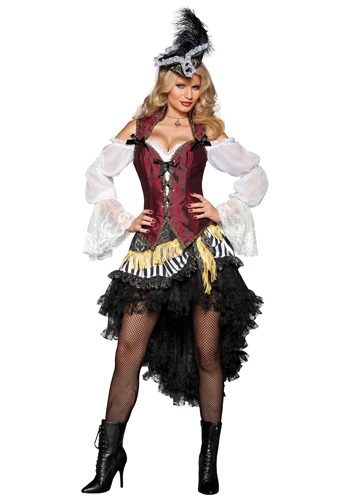 Click Here to buy Sexy High Seas Pirate Costume from HalloweenCostumes, CDN Funds & Shipping