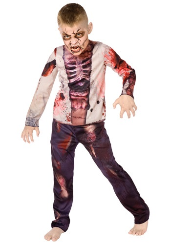 Click Here to buy Boy Zombie Costume from HalloweenCostumes, CDN Funds & Shipping