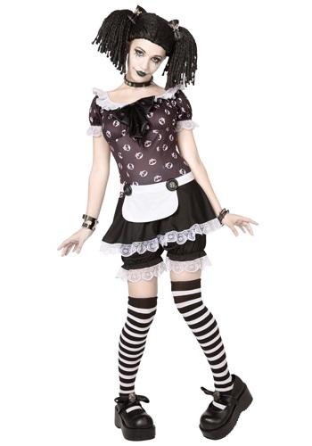 Plus Size Gothic Rag Doll Costume