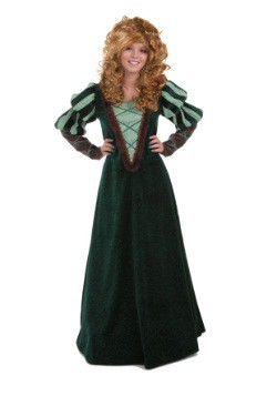 Adult Courageous Forest Princess Costume