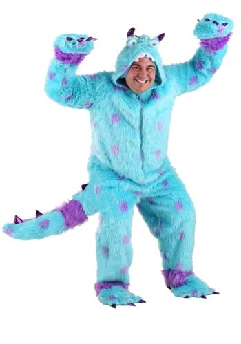 Click Here to buy Plus Size Sullivan the Monster Costume from HalloweenCostumes, CDN Funds & Shipping