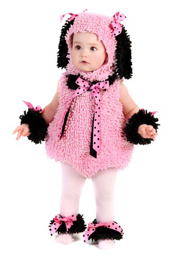Click Here to buy Baby Pink Poodle Costume from HalloweenCostumes, CDN Funds & Shipping