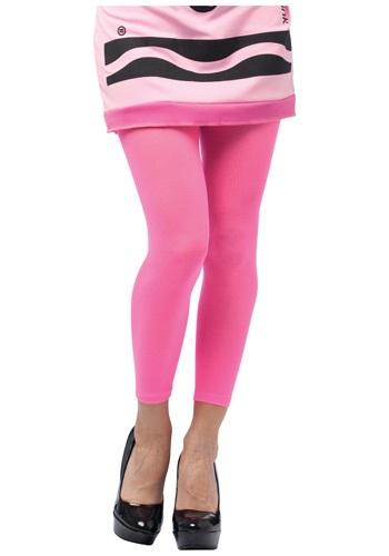 Tickle Me Pink Crayon Leggings