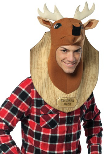 Click Here to buy Trophy Head Oh Deer Costume from HalloweenCostumes, CDN Funds & Shipping