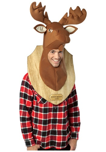 Click Here to buy Trophy Head Loose Moose Costume from HalloweenCostumes, CDN Funds & Shipping