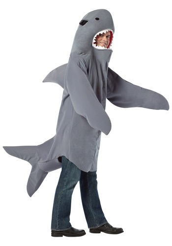 Click Here to buy Shark Costume from HalloweenCostumes, CDN Funds & Shipping