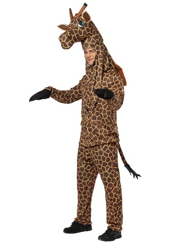 Click Here to buy Adult Giraffe Costume from HalloweenCostumes, CDN Funds & Shipping
