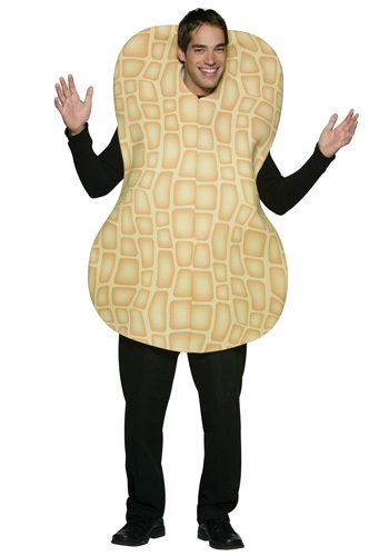 Click Here to buy Adult Peanut Costume from HalloweenCostumes, CDN Funds & Shipping