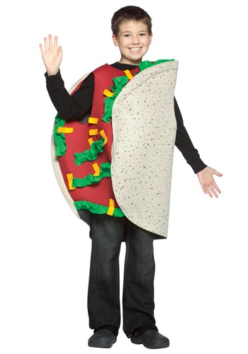 Click Here to buy Kids Taco Costume from HalloweenCostumes, CDN Funds & Shipping