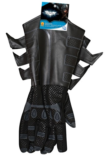 Click Here to buy Adult Batman Gauntlets from HalloweenCostumes, CDN Funds & Shipping