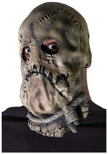 Click Here to buy Adult Dark Knight Scarecrow Mask from HalloweenCostumes, CDN Funds