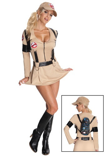 Sexy Secret Wishes Ghostbuster Costume