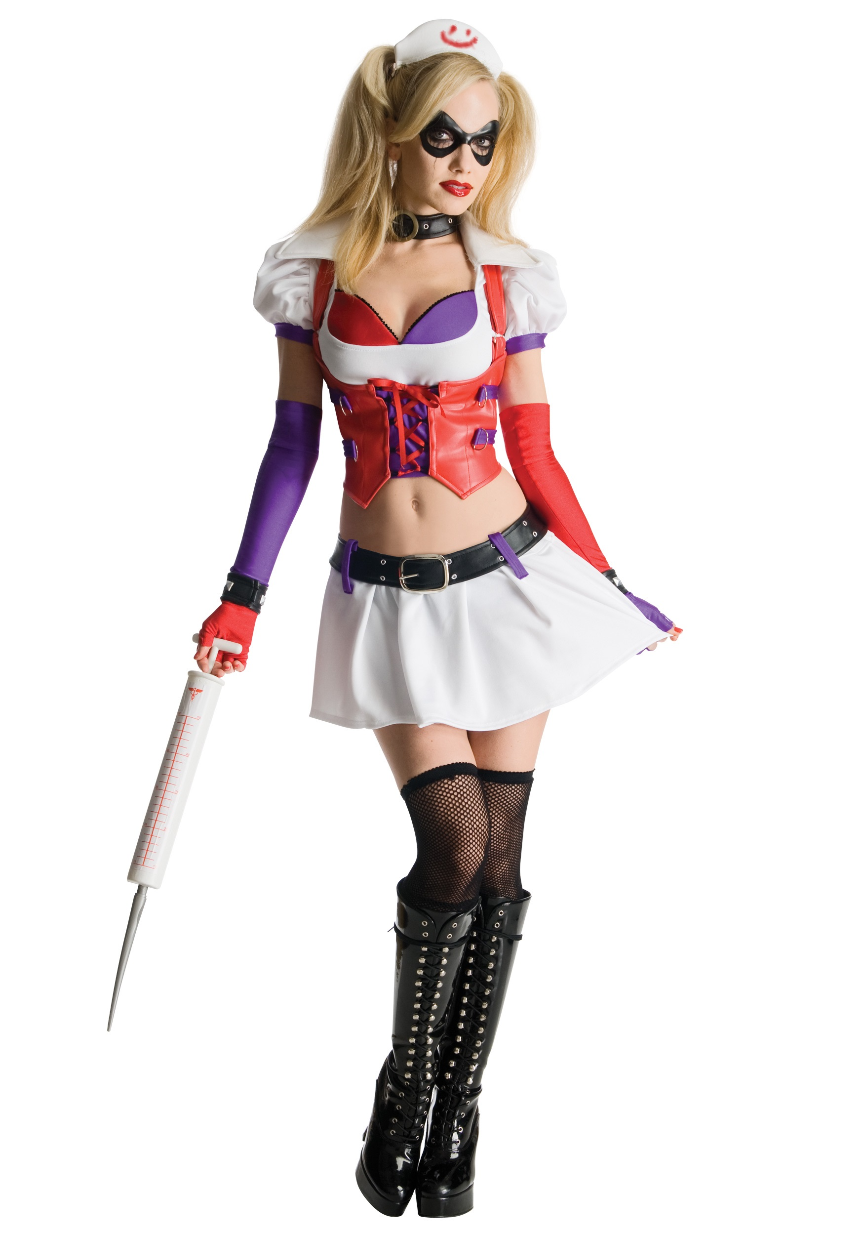 1539610ad0ae0f Arkham Asylum Harley Quinn Costume