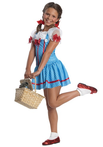 Girls Dorothy Costume