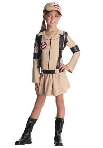 Click Here to buy Girls Classic Ghostbusters Costume from HalloweenCostumes, CDN Funds & Shipping