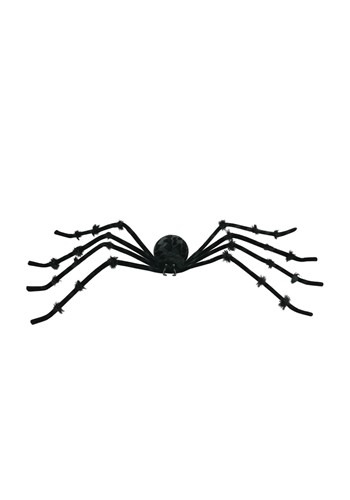 Black 50 inch Poseable Spider