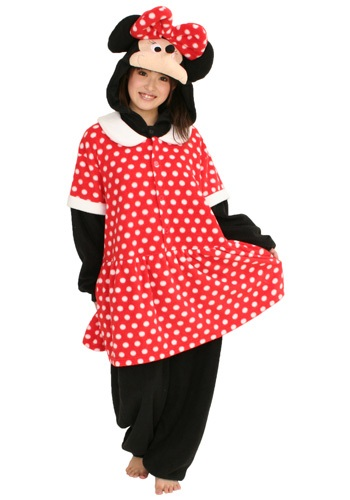 Click Here to buy Minnie Mouse Pajama Costume from HalloweenCostumes, CDN Funds & Shipping