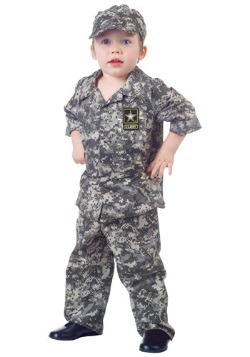 Toddler Camo Army Costume