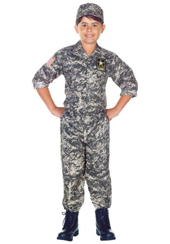 Child U.S. Army Camo Costume