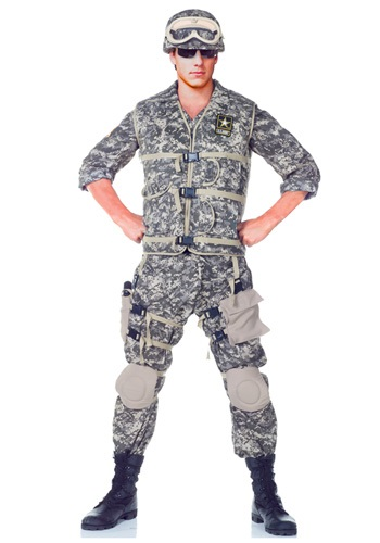 Click Here to buy Teen Deluxe U.S. Army Ranger Costume from HalloweenCostumes, CDN Funds & Shipping