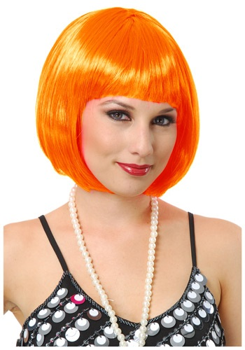 Click Here to buy Orange Bob Wig from HalloweenCostumes, CDN Funds & Shipping