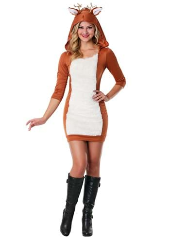 Click Here to buy Sexy Deer Costume from HalloweenCostumes, CDN Funds & Shipping